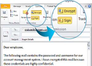 Podpisywanie wiadomości e-mail